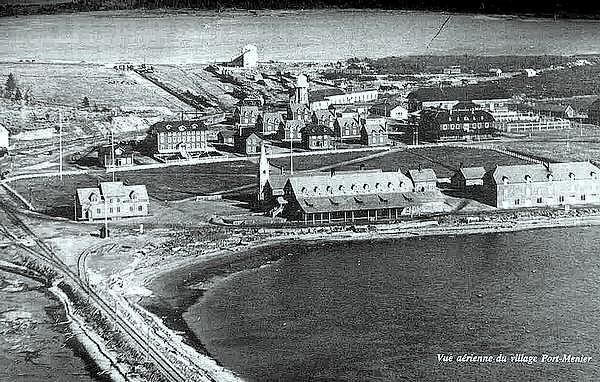 Port-Ménier en 1922