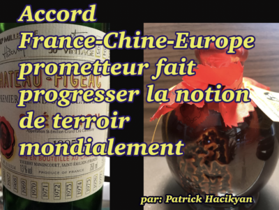 Accord France-Chine produits du terroir